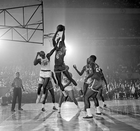 Boston Celtic's Bill Russell 1961 | Damage Playground blog