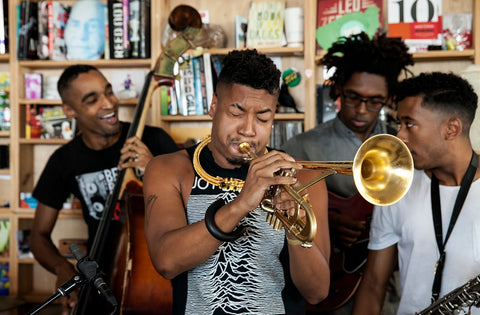 In New Orleans - Christian Scott aTunde Adjuah: NPR Music Tiny Desk Concert