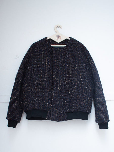 FFIXXED STUDIOS  - Designer Archive | Reversible Double Happiness Tweed Bomber