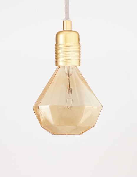 Diamond Lightbulb Cognac | FRAMA COLLECTION