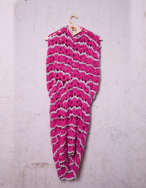JUNYA WATANABE wrap around knit sweater dress 2004 | CUSTOMER ARCHIVE