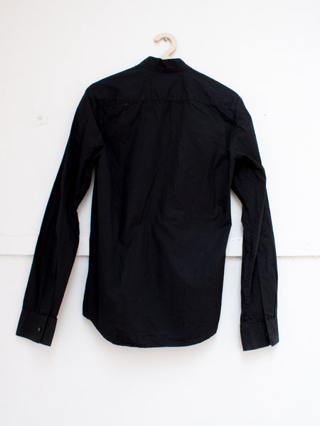 JEROEN VAN TUYL black wrap blouse | CUSTOMER ARCHIVE