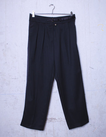 YVES SAINT LAURENT Black Womens Trousers | CUSTOMER ARCHIVE