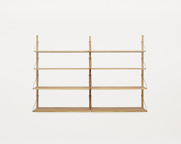 Oak Shelf library H1148 Complete Set | FRAMA COLLECTION