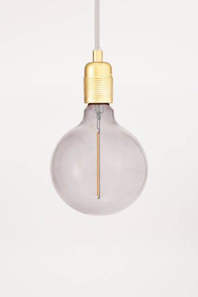 Atelier Light LED Bulb Smoke Globe 125 | FRAMA COLLECTION