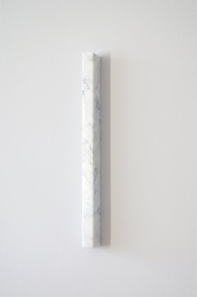 ANGELA WILLEMSEN | SEGMENTS Rectangle 40cm carrara marble