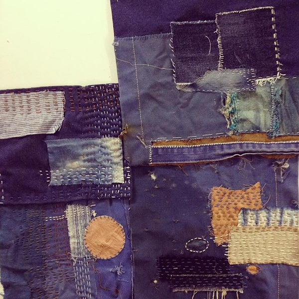 WORKSHOP TEXTIELFABRIQUE | Sashiko borduren / Boro Stitching / Jeans Repair Saturday 8 September 2018