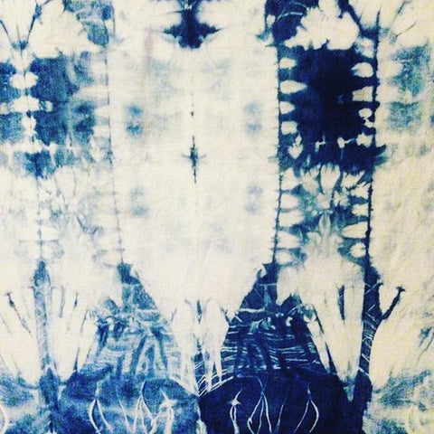 WORKSHOP TEXTIELFABRIQUE | Japanse verf en patroon technieken (Indigo, Shibori, Kasuri en Sashiko) zaterdag 8 april 2017