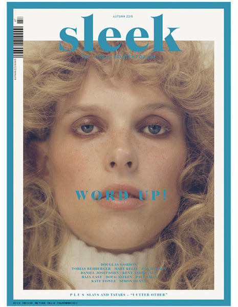 Sleek magazine #47 – Word up!