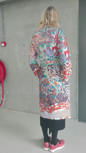 VLISCO Kimono Tree of Life | CUSTOMER ARCHIVE