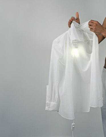 droog® | Clothes Hanger Lamp by Hector Serrano
