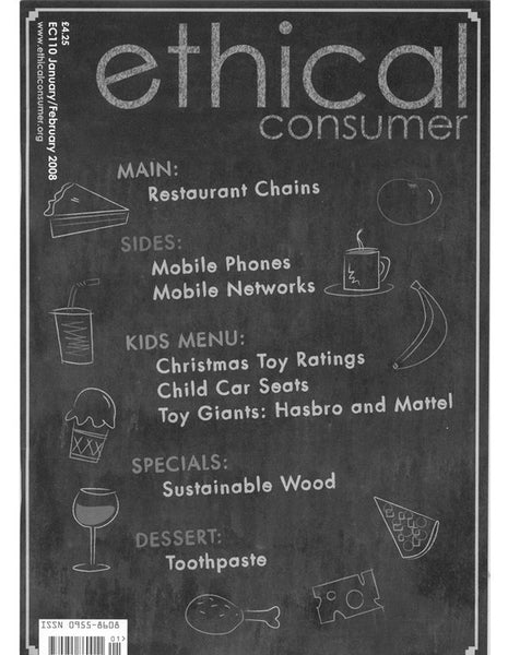Ethical Consumer | BI-MONTHLY SUBSCRIPTION YEAR 2016