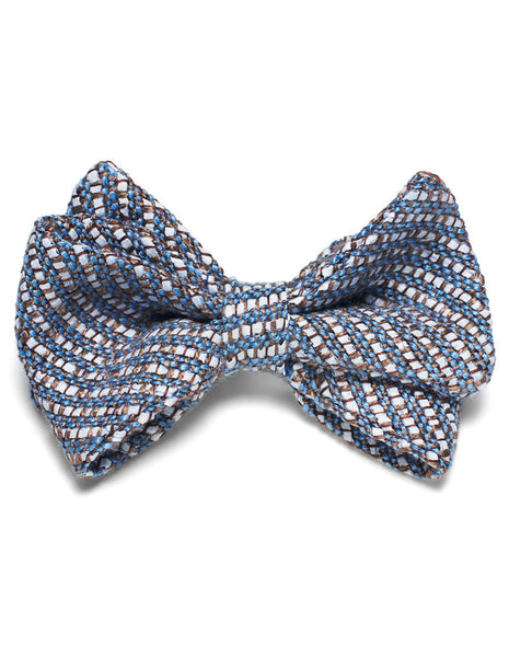 Azure Weave bow tie | FFD - DAMAGE Playground