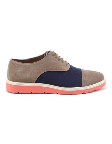 Flex Derby Fossil navy peach | UNITED NUDE