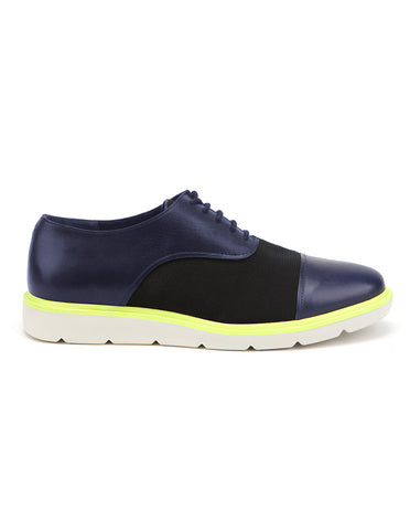 Flex Derby navy black neon | UNITED NUDE