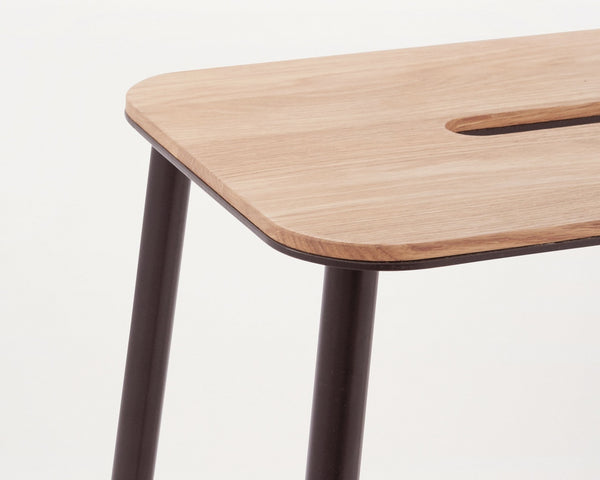 Adam Stool Oak | FRAMA COLLECTION