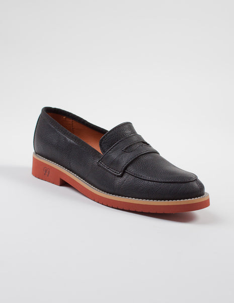 Baker black loafer womens | GOOD GUYS - DAMAGE Playground