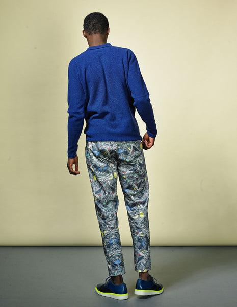 Illusions Turmoil print woven trousers | UNIFORMS FOR THE DEDICATED