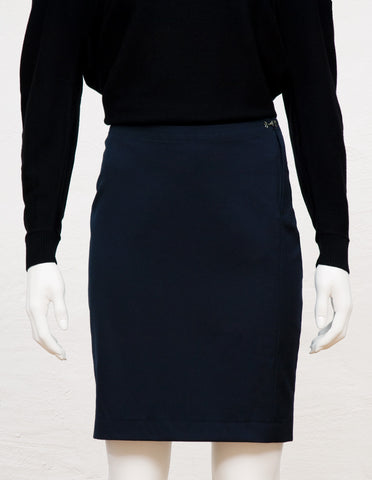 Pencil Skirt navy | mono.gramm