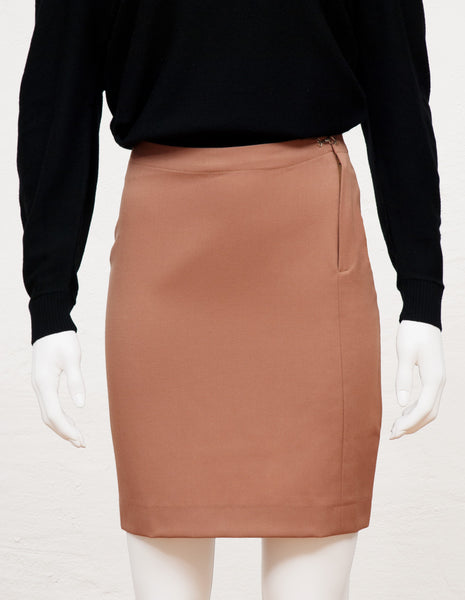Pencil Skirt nude | mono.gramm
