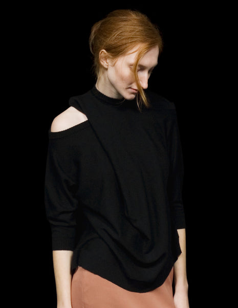 Multi Neckline Sweater | mono.gramm
