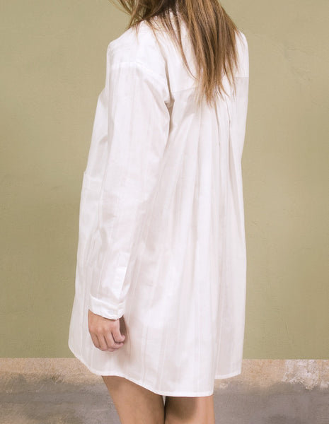 Boyfriend Shirt Dress | mono.gramm - DAMAGE Playground