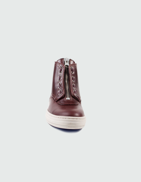 Olly 9 Oxblood Hi-Top | SWEAR LONDON
