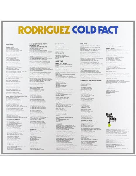 Rodriguez - Cold Fact (Vinyl/LP)