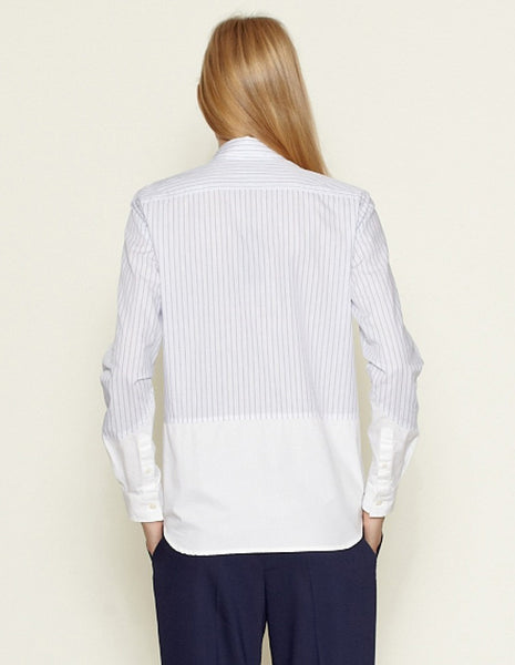 Violetta Shirt blue/white | WOOD WOOD