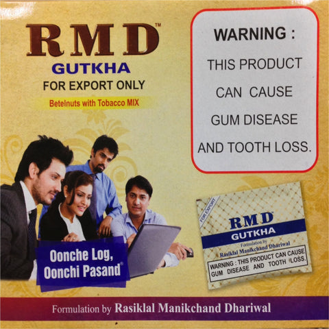 ONE Box. RMD Gutkha. 50x4g. Fresh! Aug 2017