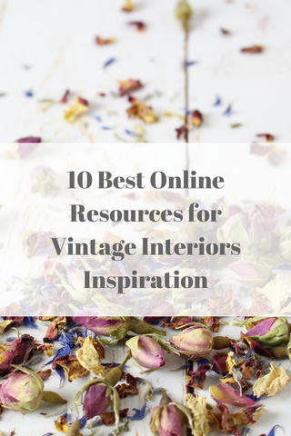 10 Best Online Resources for Vintage Interiors Inspiration by Tiddler & Fox
