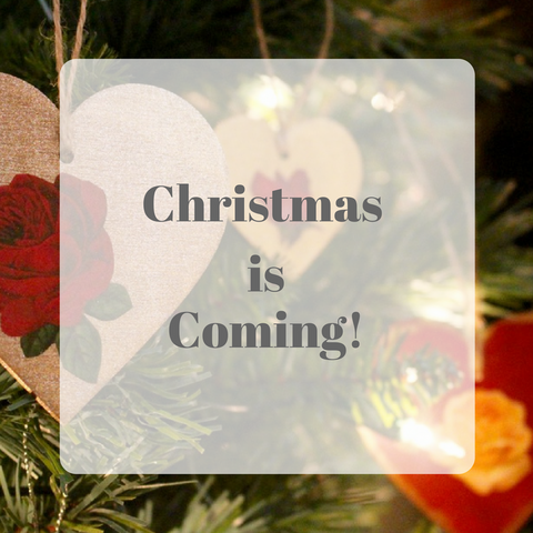 Christmas is Coming Blog post by Tiddler & Fox
