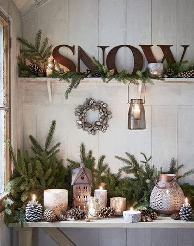 Simple Country Style Christmas