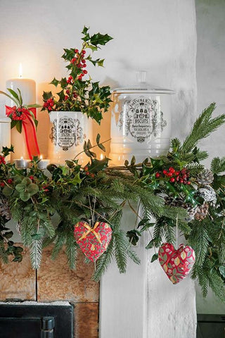 Country Style Rustic Christmas Decorations