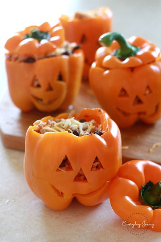 Halloween Food Ideas by Tiddler & Fox