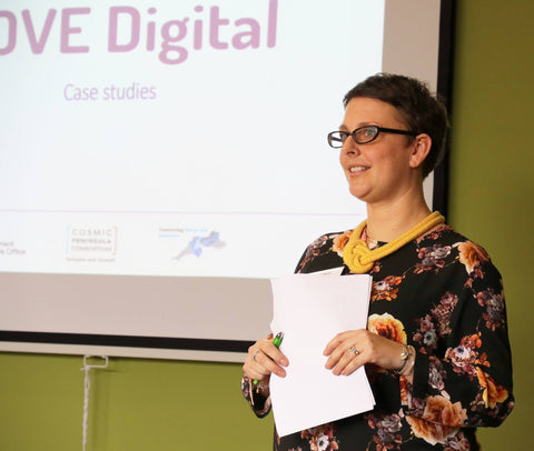 Helen Bottrill at the LOVE Digital Conference March 2016