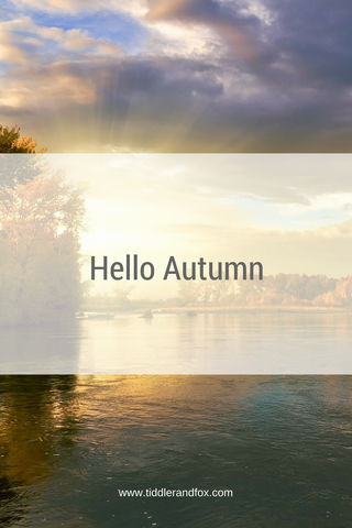 Hello Autumn blog post by Tiddler & Fox