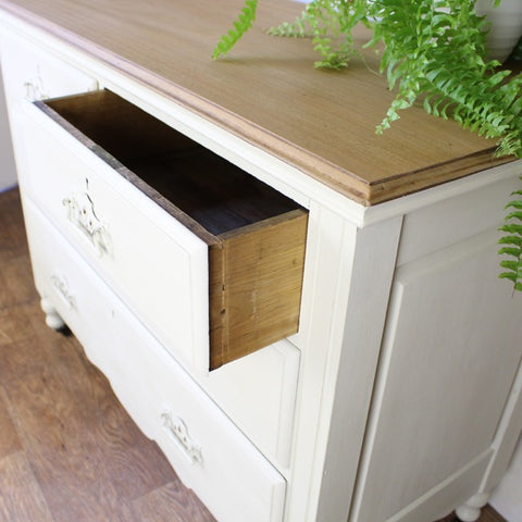 UpCycled Chest of Drawers, Inside by Tiddler & Fox