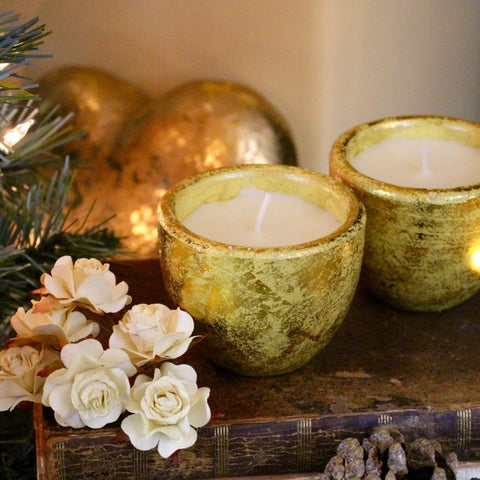 St Eval Scented Christmas candles by Tiddler & Fox