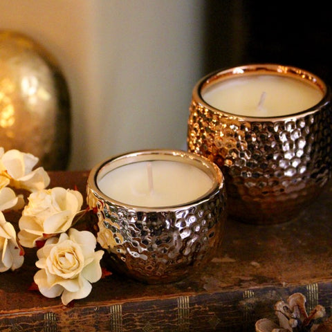 Scented Christmas Candles by Tiddler & Fox