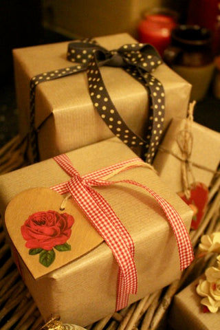 Christmas Gift wrapping Ideas by Tiddler & Fox