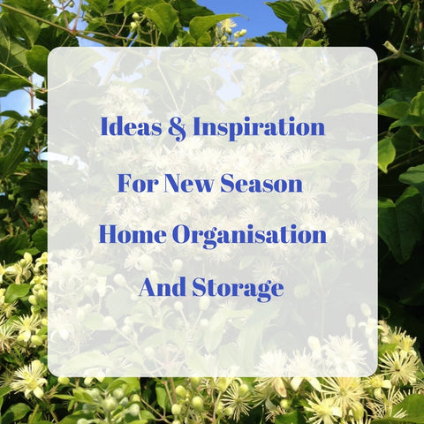 Ideas and Inspiration For New Season Home Organisation and Storage by Tiddler & Fox