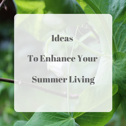 Idea to Enhance Your Summer Living by Tiddler & Fox