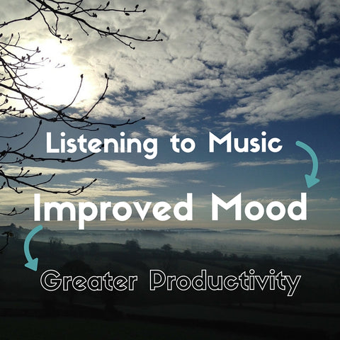 How listening to music can improve your mood and therefore your productivity by Tiddler & Fox