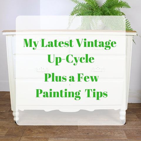 My Latest Vintage Epicycle Plus a Few Painting Tips by Tiddler & Fox