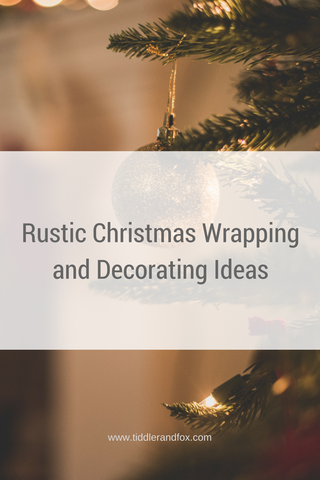 Rustic Christmas Wrapping and Decorating Ideas
