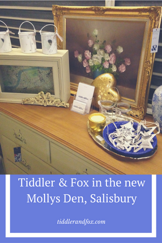 Tiddler & Fox in the new Mollys Den Salisbury