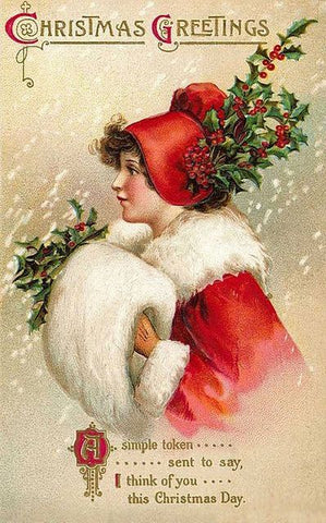 Victorian Christmas Card image