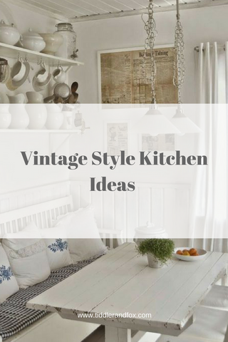 Vintage Style Kitchen Ideas by Tiddler & Fox