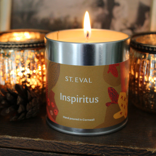 Christmas Scented Inspiritus Candle Tins